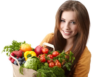 Image result for girl eating healthy diet